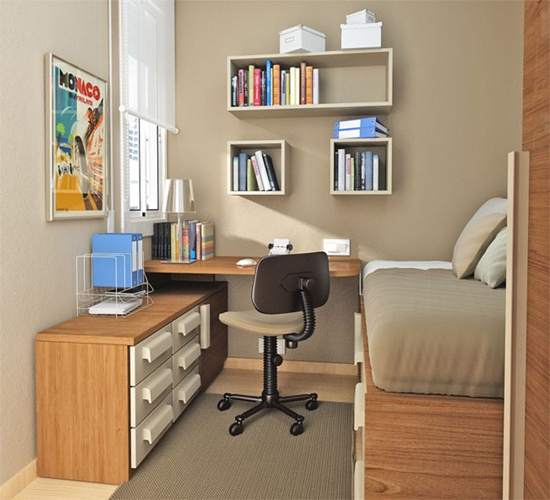 Study Room Design Ideas: 25 Beautiful Study Room Ideas