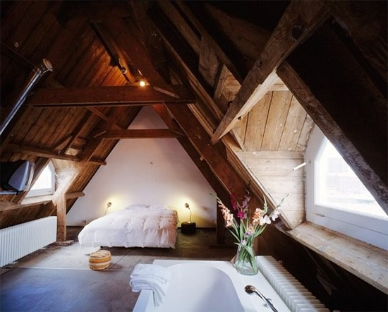 25 attic room ideas An attic room