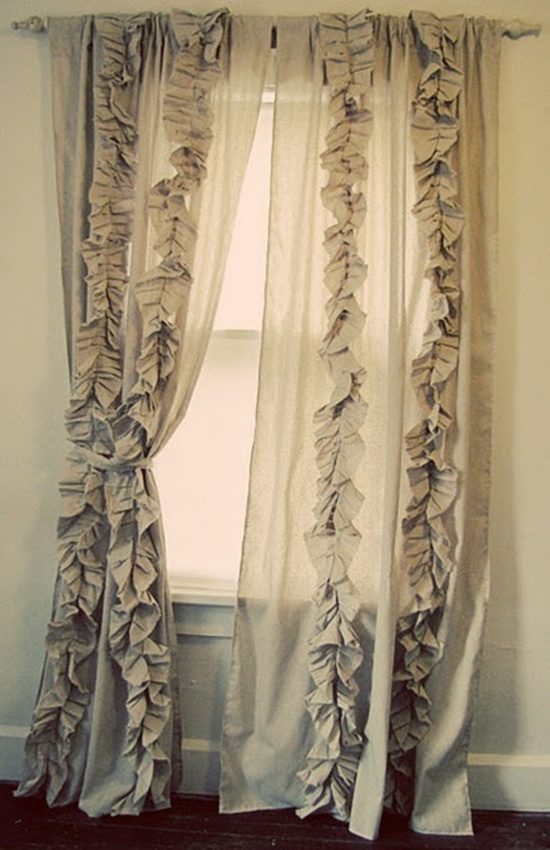 30 Beautiful New Curtain Ideas For Rooms Ruffled Designs