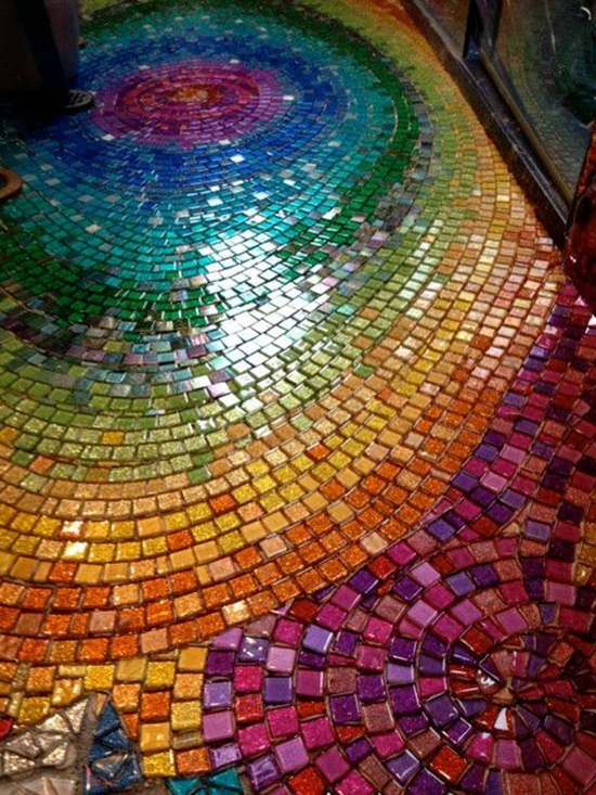 30 mosaic design ideas for Garden mosaics designs