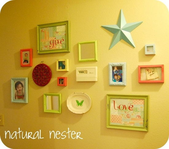 wall photo collage ideas (18)