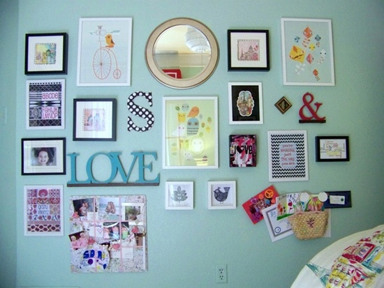wall photo collage ideas (20)