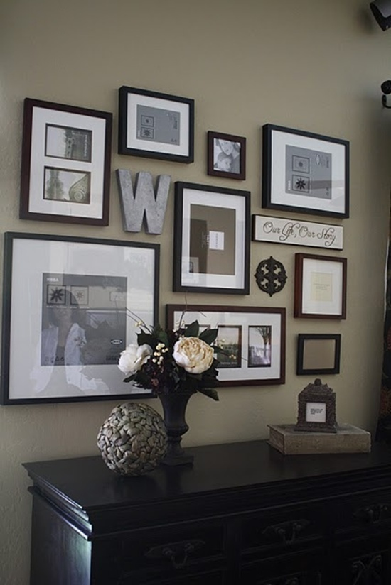 wall photo collage ideas (21)