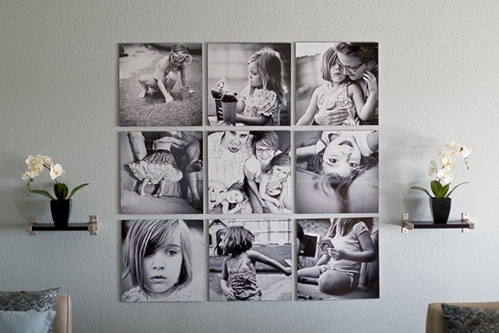 25 unique ideas for designing a photo wall - Posters gigantes para pared ...