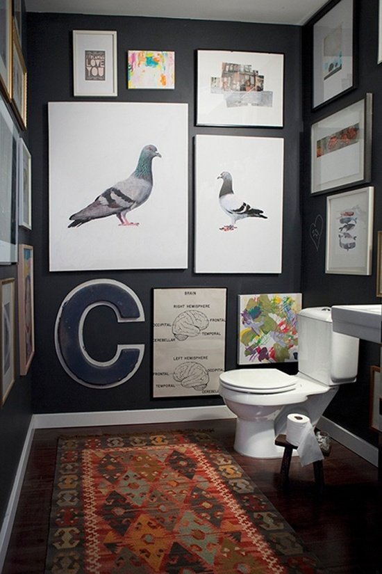 wall photo collage ideas