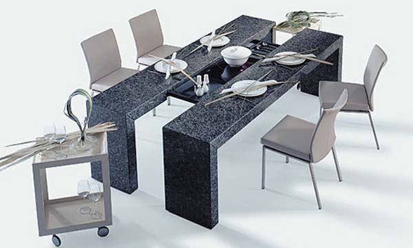 7 Sexy Sophisticated Modern Dining Table Designs : best modern dining table from www.guidinghome.com size 600 x 360 jpeg 48kB