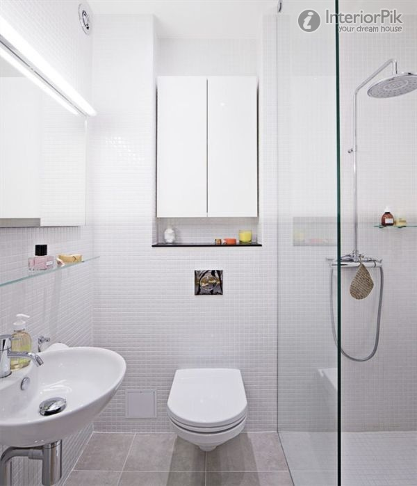 17 delightful small bathroom design ideas for Minimalist small bathroom design