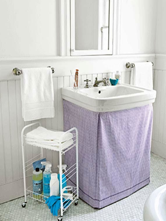 33 bathroom storage hacks and ideas that will enlarge your room Storage solutions for tiny bathrooms