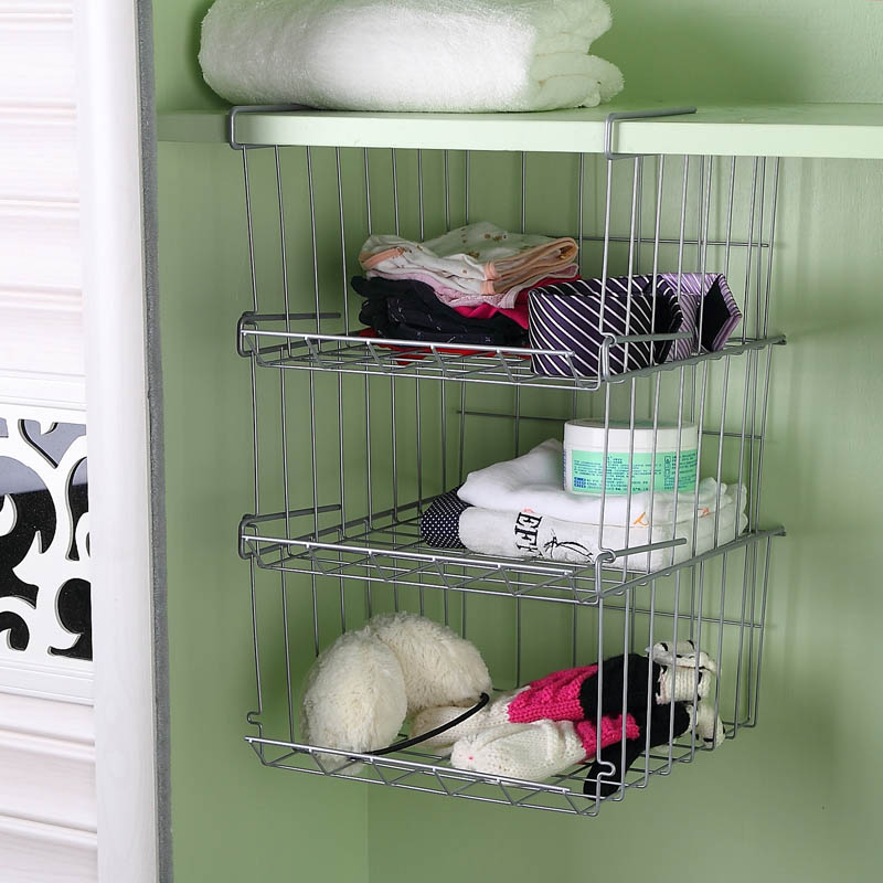 Iron-hanging-shelf-hanging-basket-bathroom-cosmetics-hanging-storage