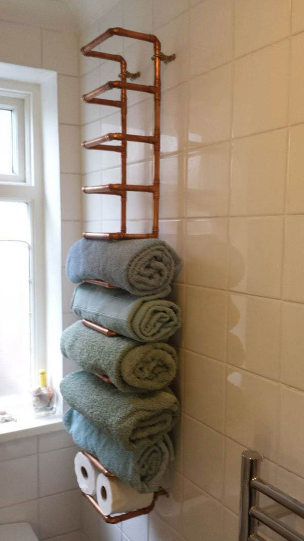 33 Clever & Stylish Bathroom Storage Ideas