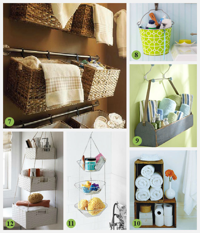 33 clever stylish bathroom storage ideas for Clever bathroom ideas