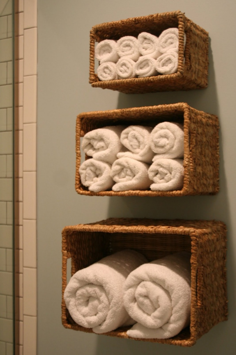 33 bathroom storage hacks and ideas that will enlarge your for Bathroom storage ideas