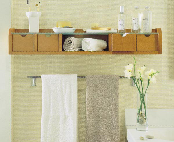 33 clever stylish bathroom storage ideas for Bathroom storage ideas