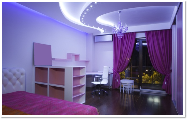 35 inspirational purple bedroom design ideas for Purple bedroom designs modern