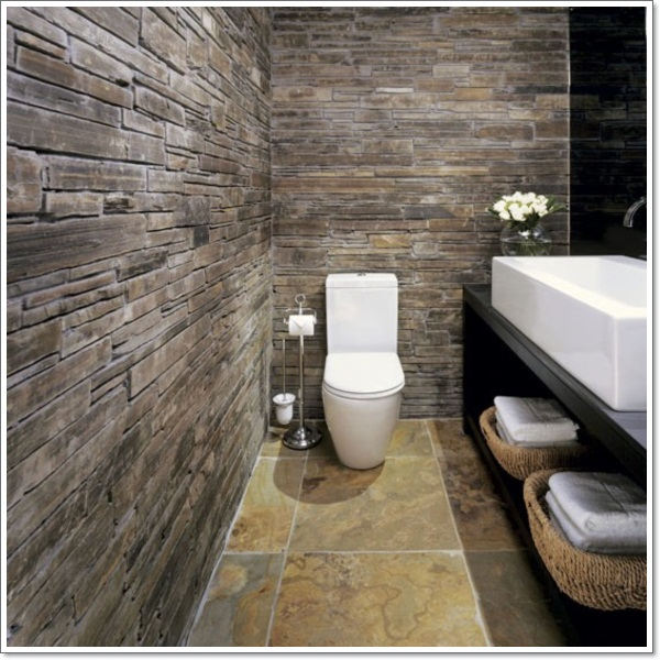 42 ideas for the perfect rustic bathroom design for Cabin shower tile ideas