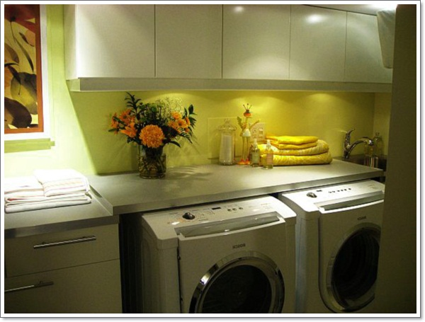 engaging-small-basement-laundry-room-idea