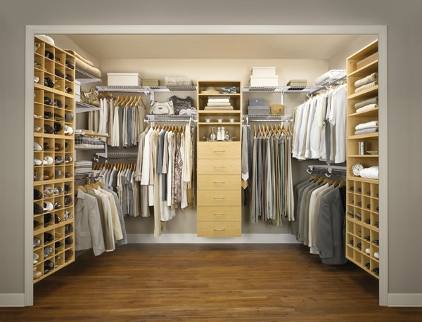 Its Good To Focus On Visibility For Your Walk In Closet Designs. Using  Glass Fronted Drawers, Tie Racks And Wire Bins Can Help In Arranging Items  Well And ...