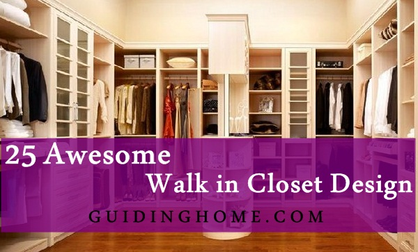 25 walk in closet designs everybody dreams about for Design your own walk in closet