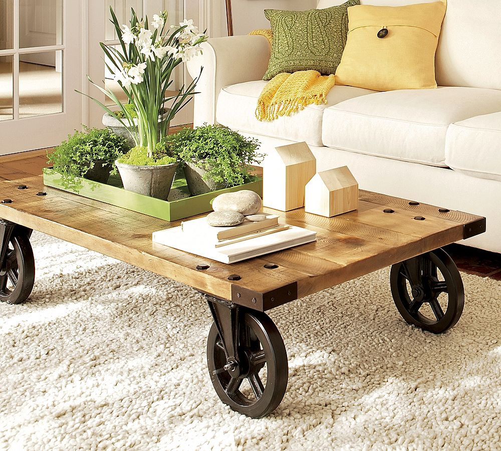 19 cool coffee table decor ideas. Black Bedroom Furniture Sets. Home Design Ideas