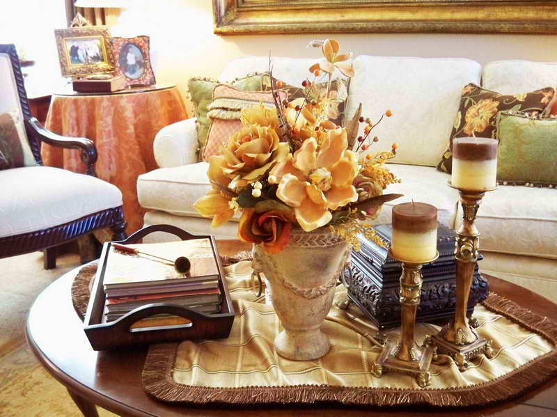 Coffee Table Decorations Ideas