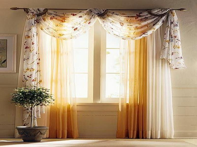 How to hang curtains drapes with picture ideas Curtain ideas for short windows