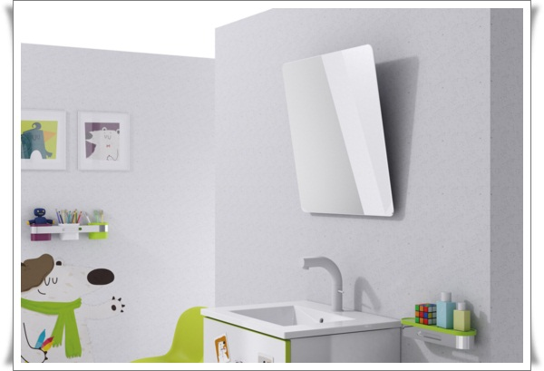 Awesome-Cartoon-Theme-Design-for-Minimalist-Kids-Bathroom-With-White-Wall-Paint-Color-and-Square-Mirror-also-White-Simple-for-Ideas