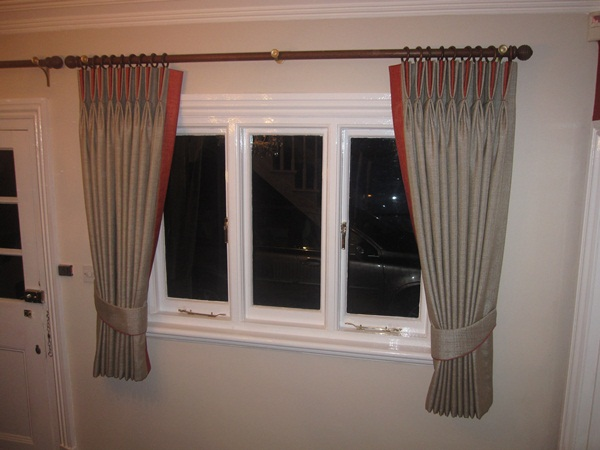 How to hang curtains drapes with picture ideas - Pictures of curtains ...