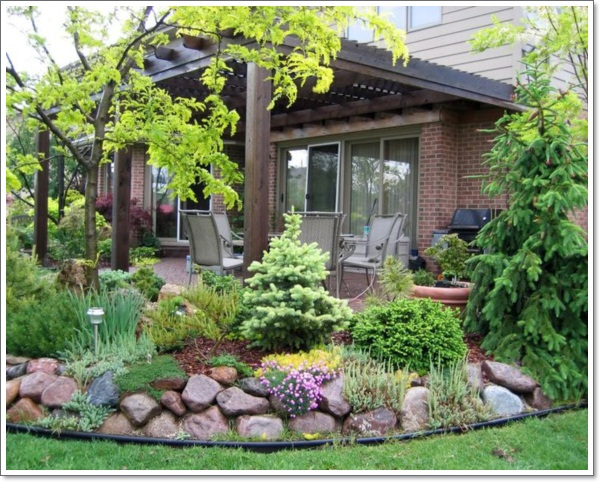 30 beautiful rock garden design ideas for Making a small garden