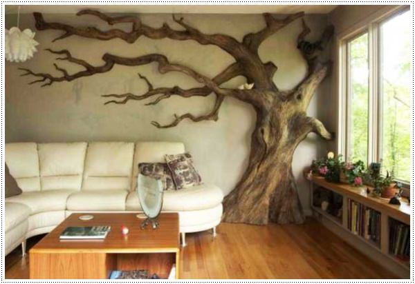 Decorating Ideas > 45 Easy To Make Wall Art Ideas For Those On A Budget ~ 083548_Unique Interior Decoration Ideas