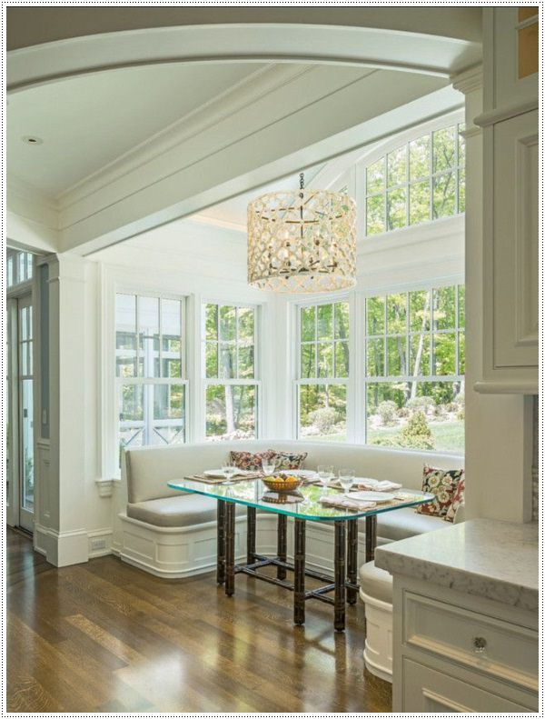 35 brilliant breakfast nook designs for American window design