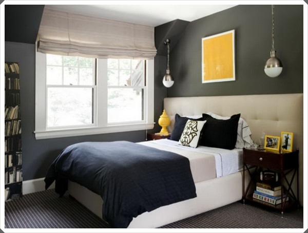Gray-Bedroom-Color-