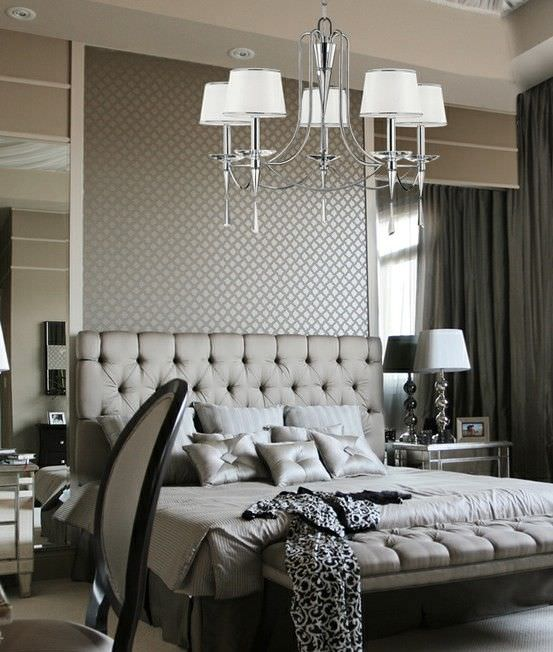 gray bedroom decorating ideas
