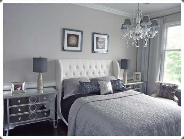 40 grey bedroom ideas basic not boring for Grey wall ideas