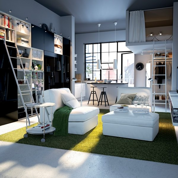 50 Studio Apartment Design Ideas: Small & Sensational !
