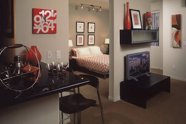 Studio Apartment Design 17