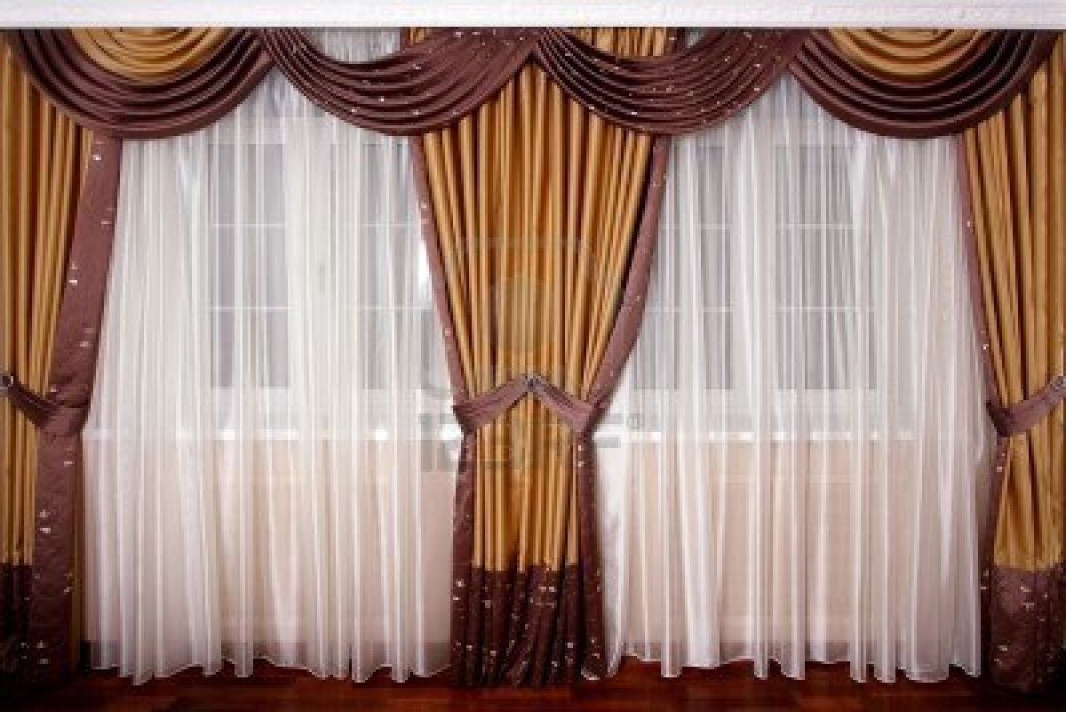 How To Hang Curtains & Drapes (With Picture Ideas) on Draping Curtains Ideas  id=58344